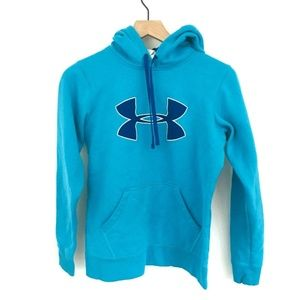 Under Armour Loose Fit Logo Hoodie Small
